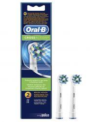 Oral-B  EB 50-2 CROSS ACTION Náhradní kartáček náhradní kartáček 2 ks