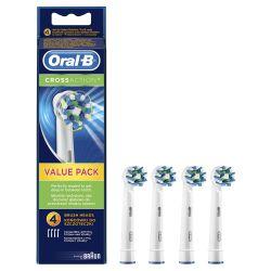Oral-B EB 50-4 CROSS ACTION náhradní kartáček 4 ks