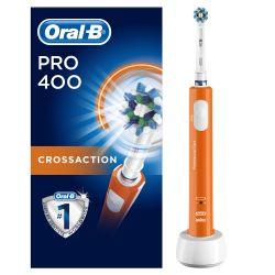 Oral-B  PRO 400 Orange elektrický zubní kartáček