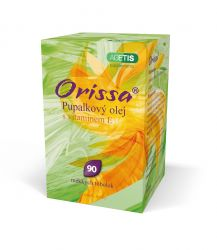 Orissa Pupalkový olej s vitaminem E 90 tobolek