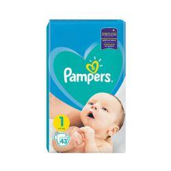 Pampers Newborn vel. 1 dětské pleny 43 ks
