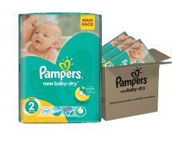 Pampers New Baby-Dry vel. 2 Mini dětské pleny 3x76 ks