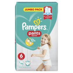 Pampers Pants vel. 6 Extra Large plenkové kalhotky 44 ks
