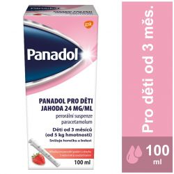 Panadol pro děti Jahoda 24 mg/ml 100 ml