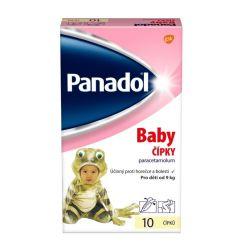 Panadol Baby 10 čípků