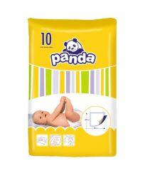 Panda Dětské přebalovací podložky 60 x 60 cm 10 ks