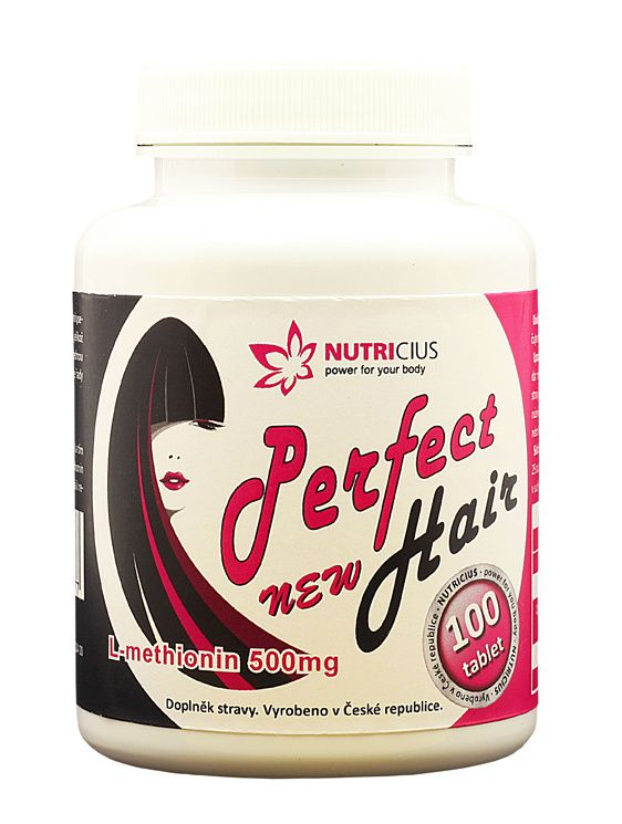 Perfect HAIR new methionin 500 mg 100 tablet