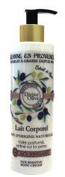 Jeanne en Provence Výživné tělové mléko Oliva 250 ml