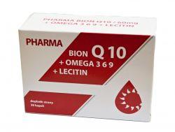 Pharma Bion Q10 60 mg + omega 3-6-9 + lecitin 30 kapslí