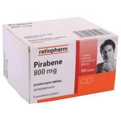 Pirabene 800 mg 100 potahovaných tablet