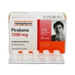 Pirabene 1200 mg 60 potahovaných tablet