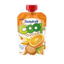 Sunárek Cool ovoce Pomeranč banán sušenka kapsička 120 g