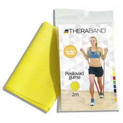 Thera-Band Posilovací guma slabá 2 m žlutá