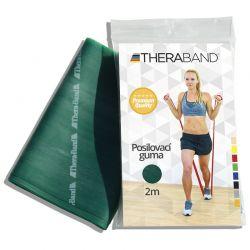 Thera-Band Posilovací guma silná 2 m zelená