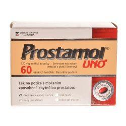 Prostamol uno 320 mg 60 měkkých tobolek