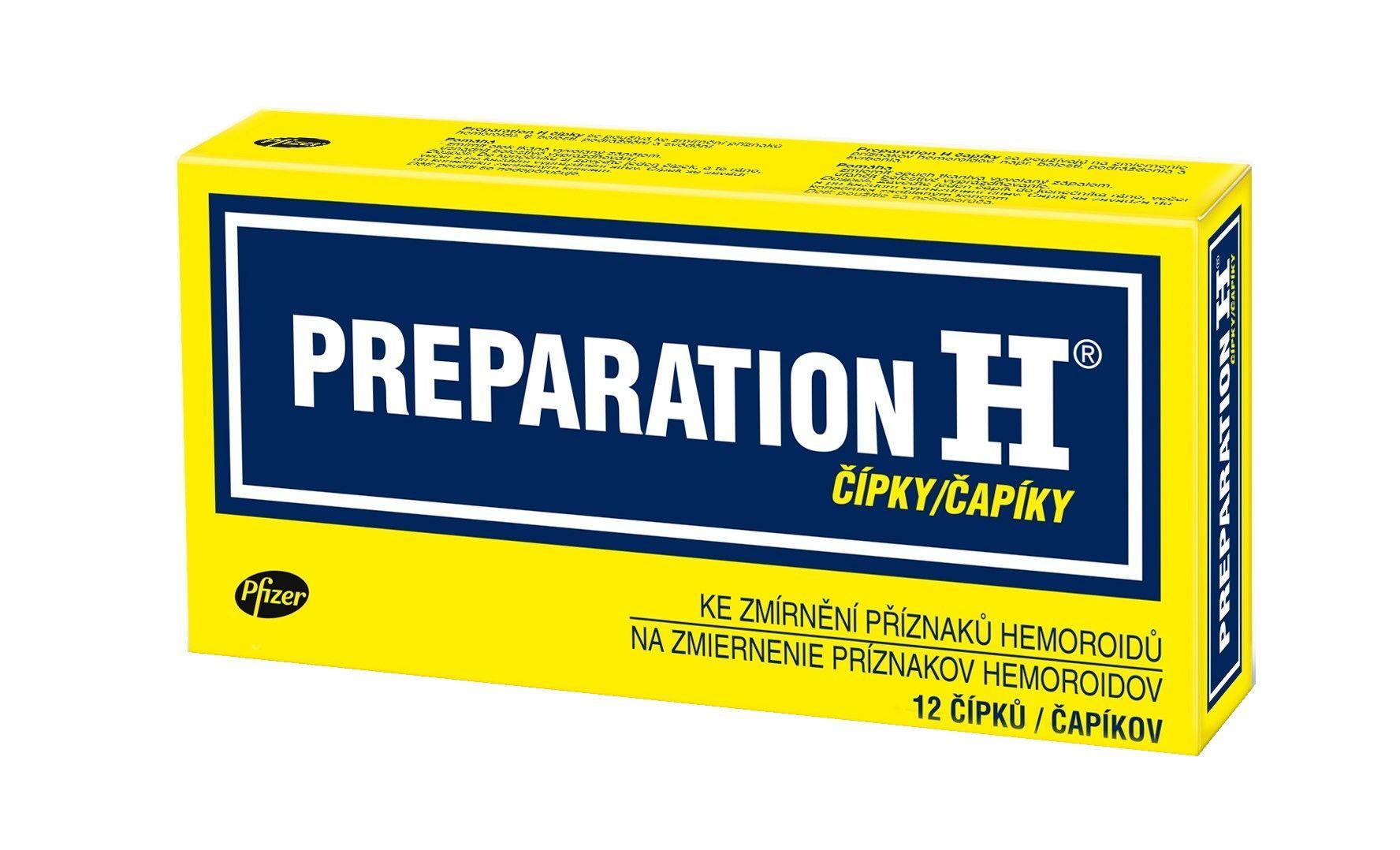 Preparation H 12 čípků  85cc516681