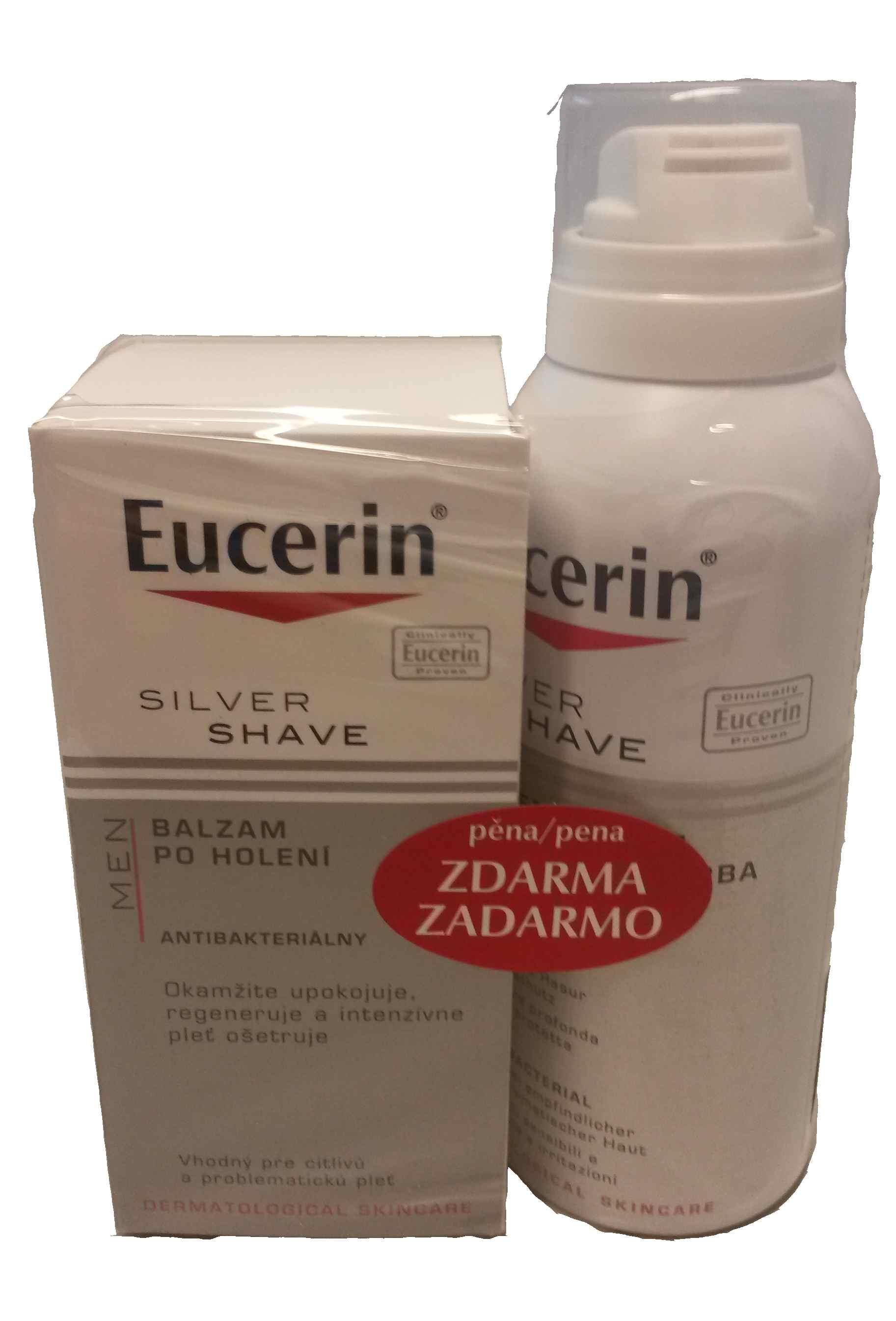 EUCERIN MEN 1+1 ZDARMA Balzám po holení + Pěna na holení 2015  46bb317754