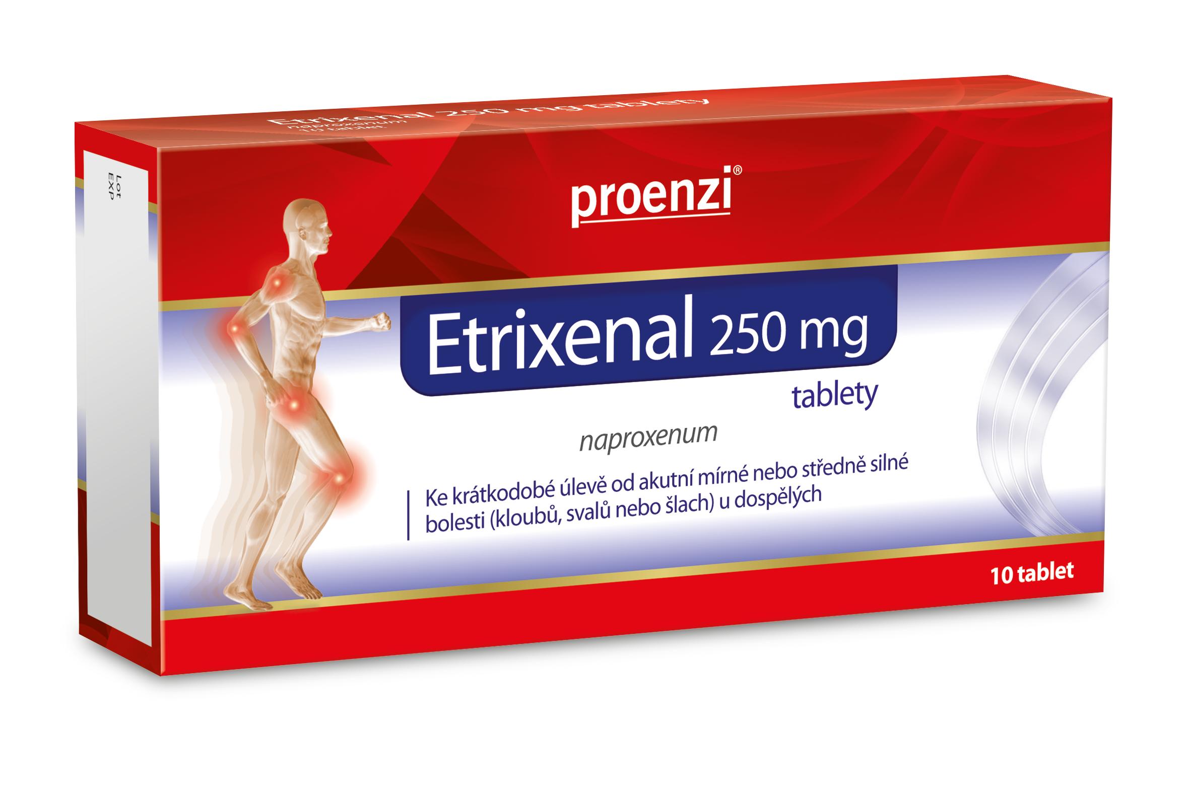 Etrixenal 250 mg 10 tablet