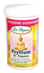 Dr. Popov Psyllium indická rozpustná vláknina 240 g