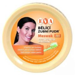 EVA Bělící zubní pudr - MESWAK 30g