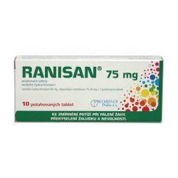 Ranisan 75 mg 10 potahovaných tablet