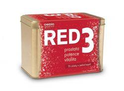 Cemio RED3 dárkové balení 90 kapslí