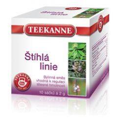 Teekanne Štíhlá linie bylinný čaj porcovaný 10x2 g