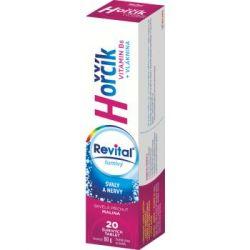 Revital Hořčík + vitamin B6 příchuť malina 20 šumivých tablet