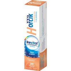 Revital Hořčík + vitamin B6 příchuť meruňka 20 šumivých tablet