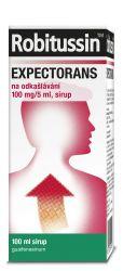 Robitussin Expectorans na odkašlávání 100 mg/5 ml sirup 100 ml