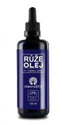 Renovality Růže masážní a tělový olej pipetka 100 ml