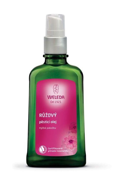 Weleda Růžový pěsticí olej 100 ml