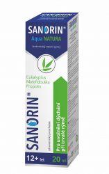 Sanorin Aqua NATURA nosní sprej 20 ml