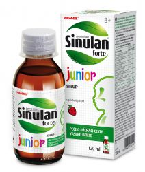 Walmark Sinulan forte Junior sirup 120 ml 55a6426825