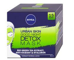 Nivea Urban Skin Detox noční maska 50 ml