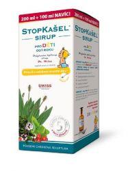 Dr. weiss STOPKAŠEL pro děti sirup 200+100 ml