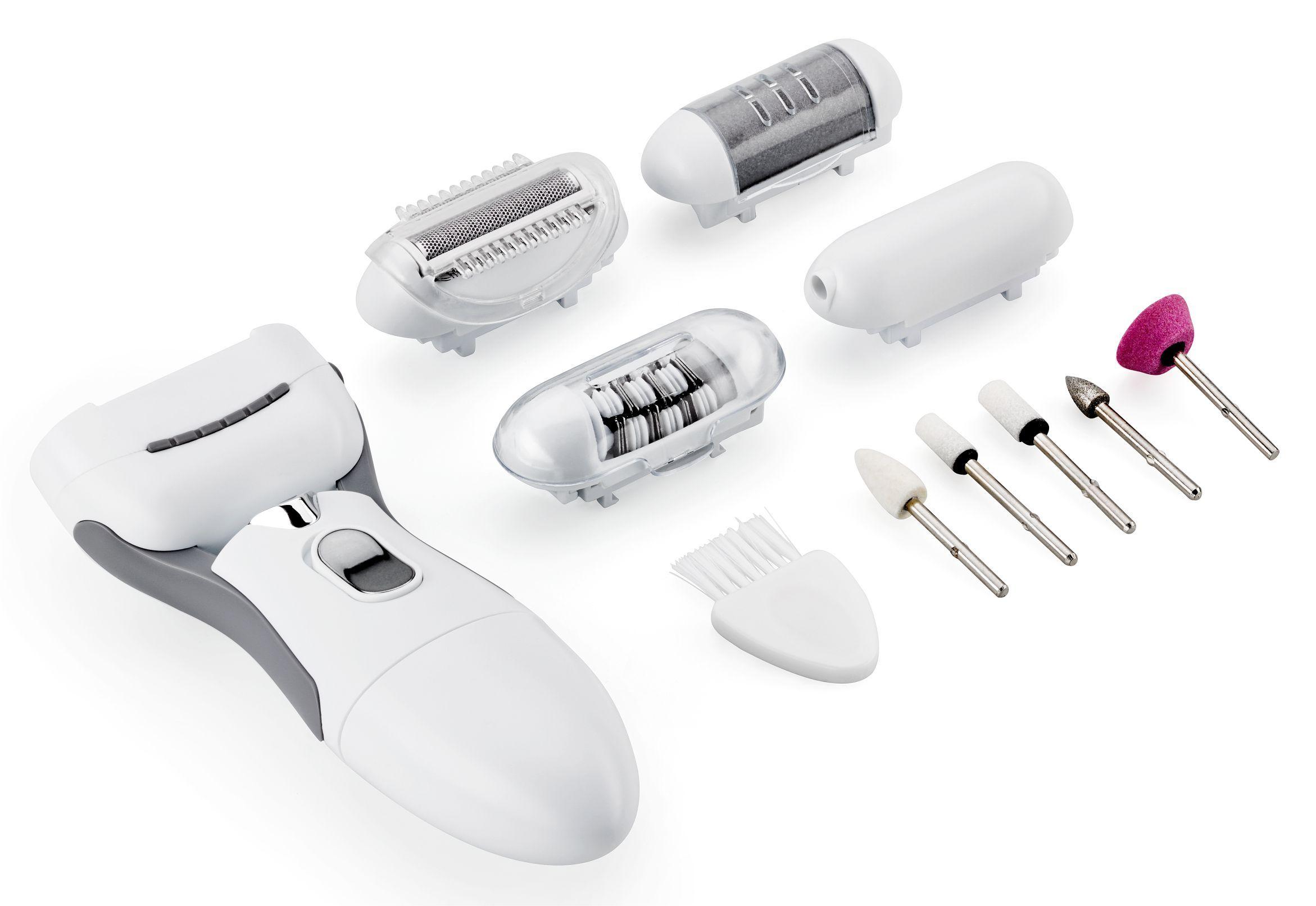 Multifunkční strojek depilace - manikúra - pedikúra