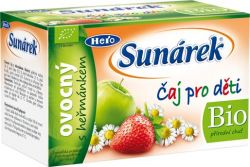 Sunárek Čaj pro děti ovocný s heřmánkem 20x1,5 g