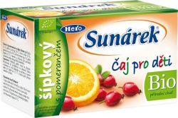 Sunárek Čaj pro děti šípkový s pomerančem 20x1.5 g