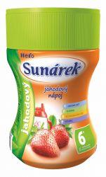 Sunárek Rozpustný nápoj jahodový dóza 200 g