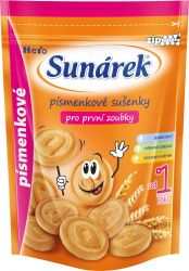 Sunárek Dětské sušenky písmenkové 150 g