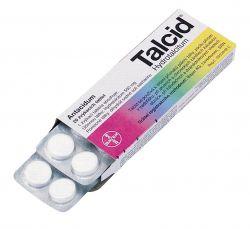 Talcid 20 žvýkacích tablet