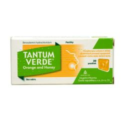 Tantum verde Orange and Honey 3 mg 20 pastilek