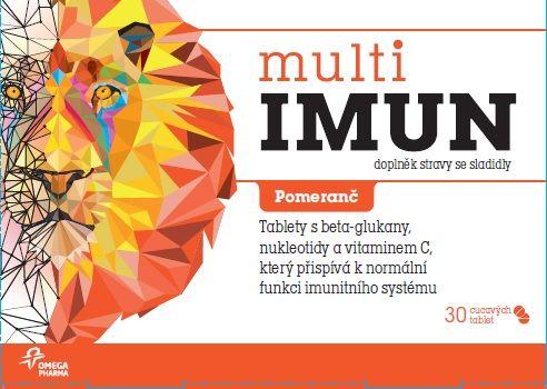 Multiimun pomeranč 30 tablet