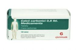 Medicamenta Calcii Carbonici 0,5 100 tablet