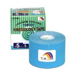 TEMTEX Kinesio tape 5 cm x 5 m tejpovací páska modrá
