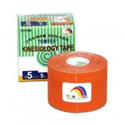 TEMTEX Kinesio tape 5 cm x 5 m tejpovací páska oranžová