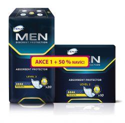 Tena Men Level 2 inkontinenční vložky 30 ks + 50% navíc