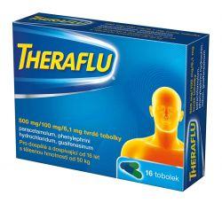 Theraflu 500 mg/100 mg/6,1 mg 16 tobolek