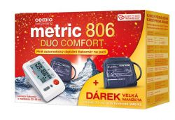 Cemio Metric 806 Duo Comfort tonometr + dárek